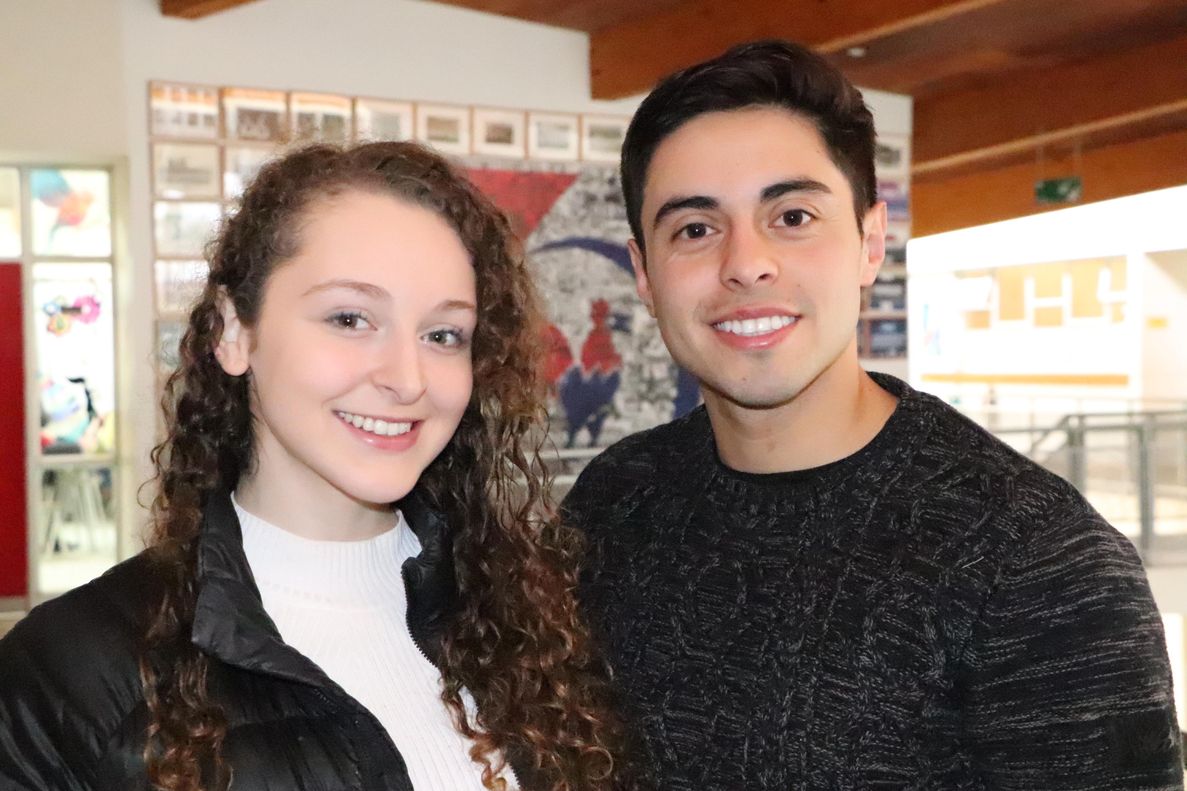 Fernanda Bourgeois y Felipe Aravena